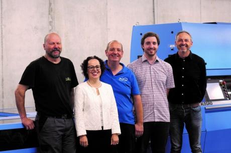 Das BuLu-Energieteam freut sich über die Auszeichnung.