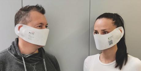 Bedruckbare umweltfreundliche Einwegmasken von BuLu