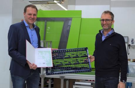 Mag. (FH) Dr. Gerhard Bertsch (Geschäftsführer Vertrieb und Marketing) und Gerhard Marte (Geschäftsführer Technik und Betrieb
