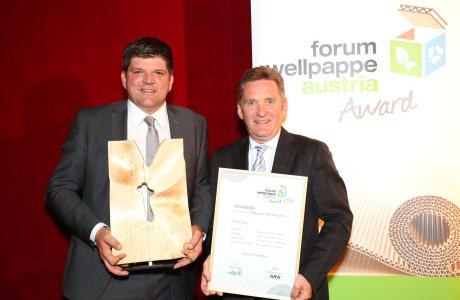 Rondo gewinnt beim Wellpappe Austria Award