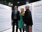 Hypo-Vorstand Dr. Johannes Hefel mit Kirsten Helfrich und Georg Vith
