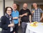 Christine Schwarz-Fuchs (Geschäftsführerin), Bernd Grabher (Versandleiter), Ralph Kogler (Haustechniker), Helmut Fitz (Qualitätsmanager)