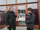 Condomerie von 09.-12. Februar 2012 auf dem Kirchplatz in Lustenau